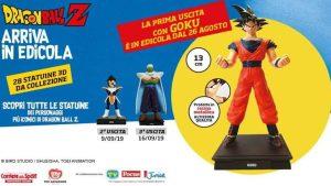 Dragon Ball Z: la nuova collezione di statuine in edicola