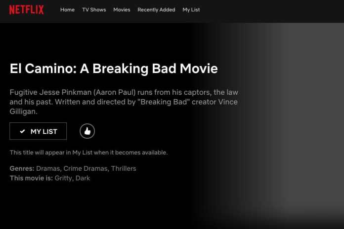 Breaking Bad - Netflix