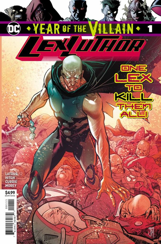 Apex Lex Luthor anno del cattivo year of the villain DC Comics