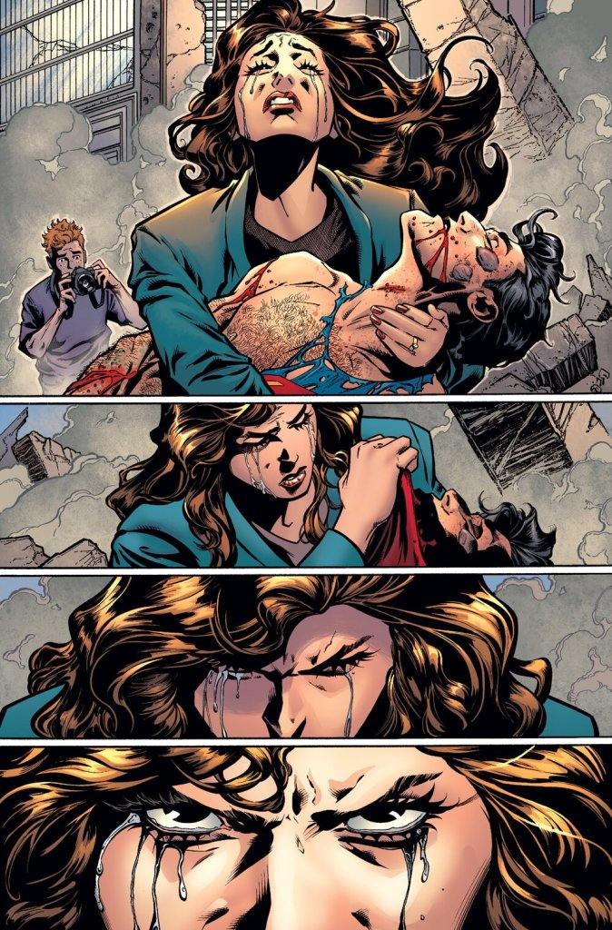 Tales From The Dark Multiverse Death of Superman Lois Lane Metal DC Comics