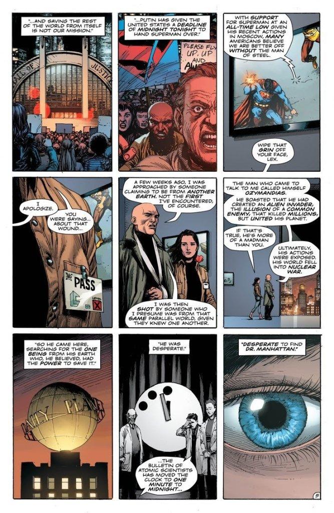 Doomsday Clock #11 Geoff Johns Gary Frank Dc Comics
