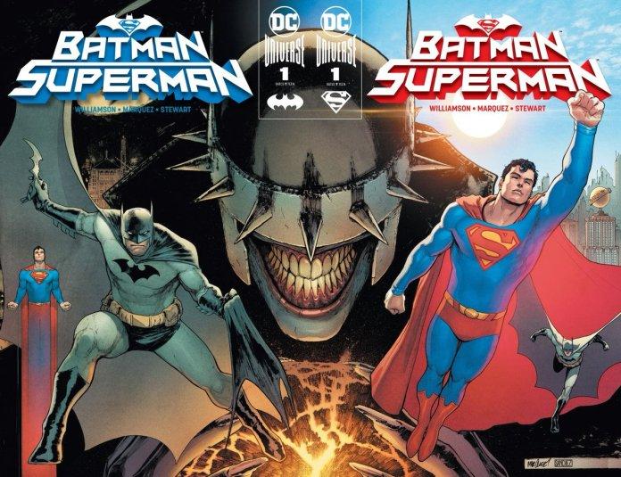 Batman/Superman DC COMICS YEAR OF THE VILLAIN SEGRETI SEI