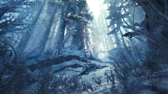 Monster Hunter World: Iceborne distese brinose