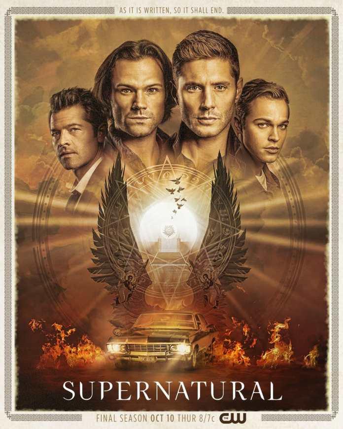 supernatural stagione 15 poster promo e anticipazioni