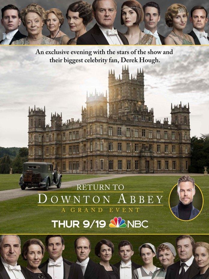 return to Downton abbey: a grand event lo speciale prima del film sequel della serie di julian fellowes