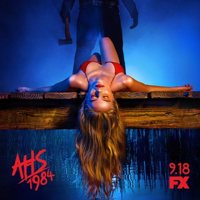 american horror story: 1984 poster stagione 9 fx