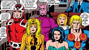 Chi sono gli Eterni? E cosa cosa dobbiamo aspettarci dai Marvel Studios?