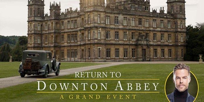return to Downton abbey: a grand event lo speciale di nbc prima del film sequel della serie di julian fellowes