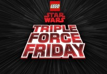 Lego Triple Force Friday