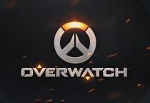 Overwatch Logo sfondo nero