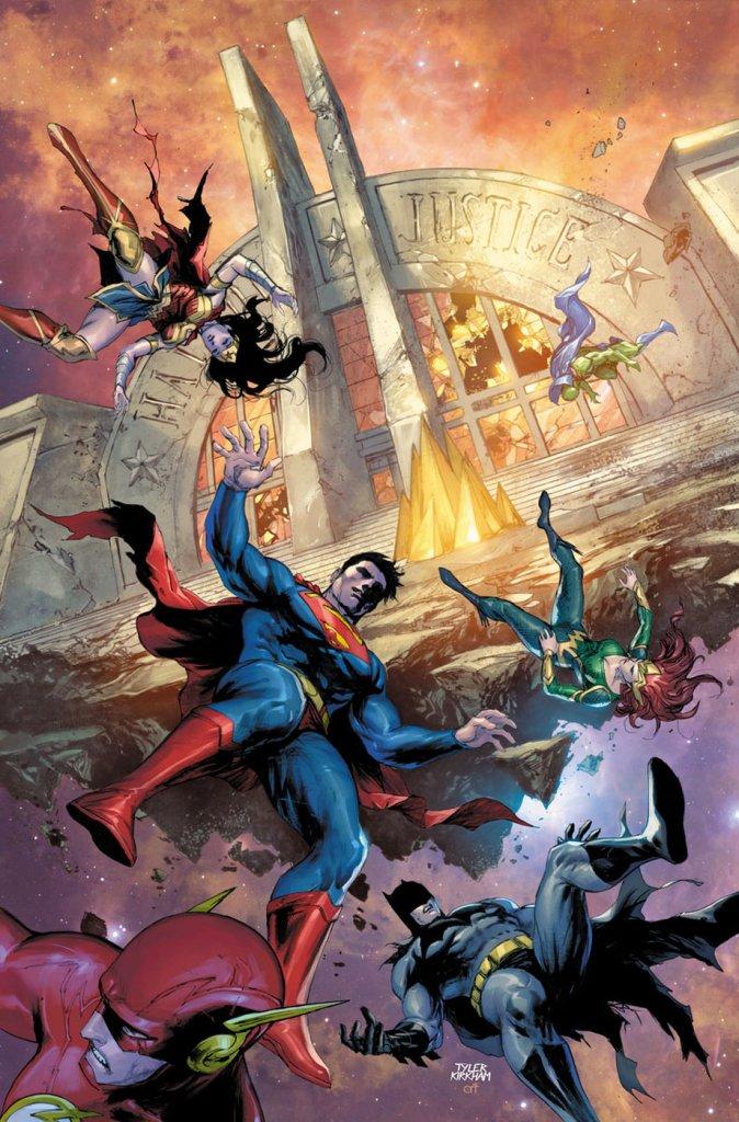 Justice league scott snyder