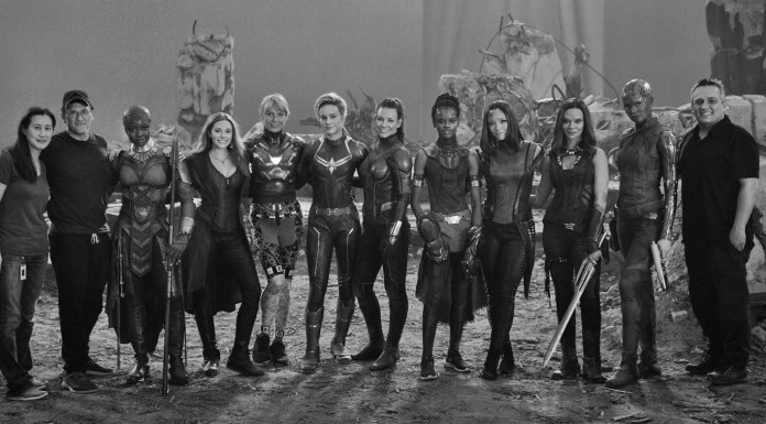 marvel larson film donne mcu endgame