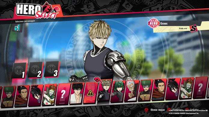 One Punch Man beta screen 2