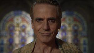 Watchmen: ecco la prima immagine di Jeremy Irons nei panni di Ozymandias