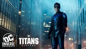 Nightwing si rivela nel trailer del season finale della seconda stagione di Titans!