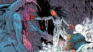 """DC Comics: Warren Johnson racconta la sua Wonder Woman """"post-apocalittica"""" nelle prime pagine della miniserie Dead Earth"""