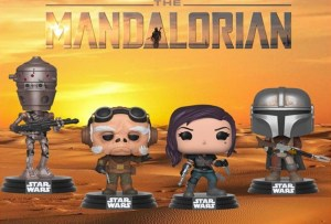 Star Wars: The Mandalorian,i Funko PoP! ispirati alla serie