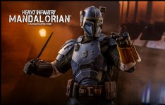 Star Wars: The Mandalorian , Hot Toys presenta la Heavy Infantry Mandalorian 1:6 Figure