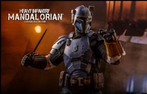 Star Wars: The Mandalorian , Hot Toys presenta la Heavy Infantry Mandalorian 1:6 Figure
