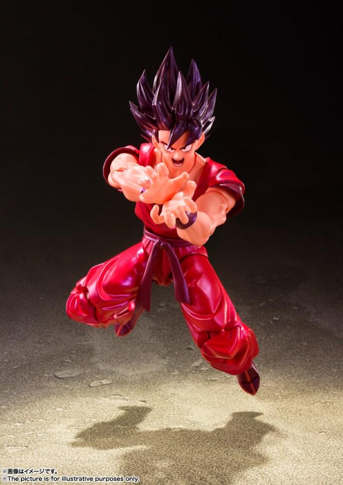 Goku Kaioken bandai