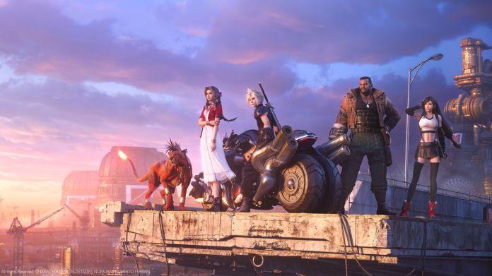 Final Fantasy 7 Remake key art