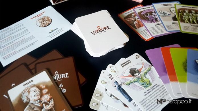 Carte e manuale di Venture
