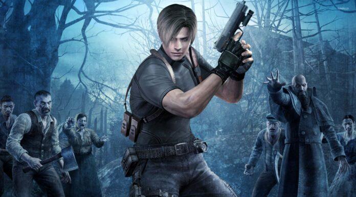 Resident evil 4 Remake Dino Crisis