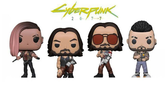 Funko Pop cyberpunk 2077