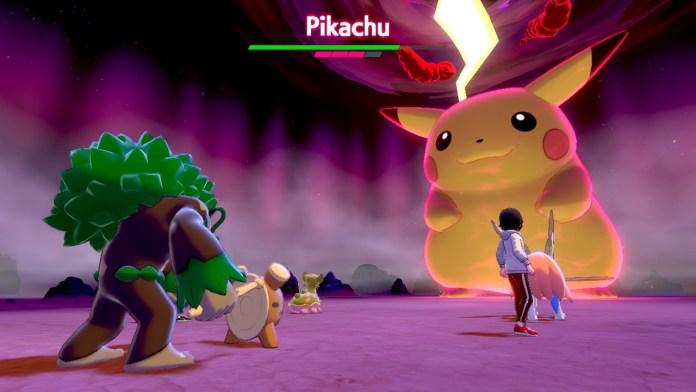 Pokémon Gigamax Pikachu