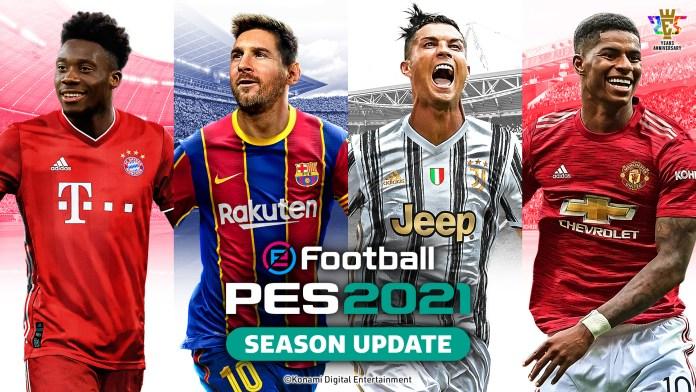 eFootball PES 2021 Season Update - Data Pack