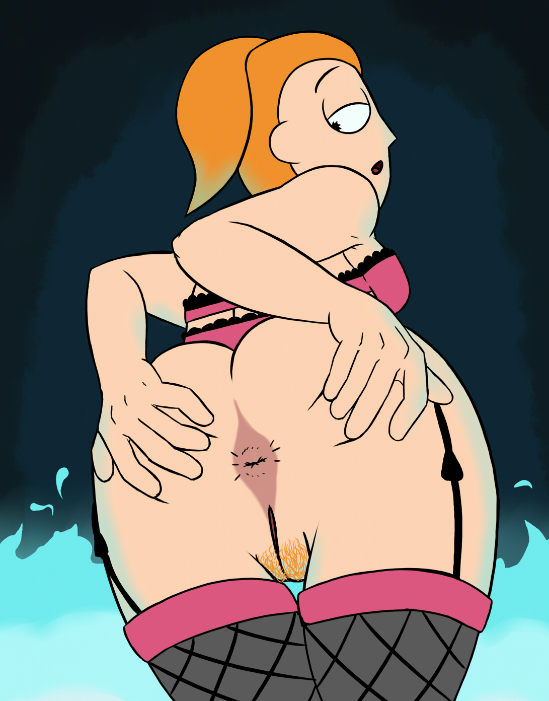 Summer from rick and morty nude