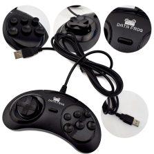 Data-Frog-For-SEGA-USB-Classic-Gamepad-6-Buttons-USB-Gaming-Joystick-Holder-for-PC-MAC