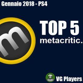 Top 5 giochi PS4 del mese di Gennaio 2018 secondo Metacritic