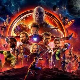 Avengers: Infinity War – I poster con i colori delle gemme!