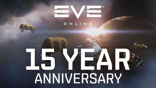 copertina del video celebrativo per i primi 15 anni di Eve Online
