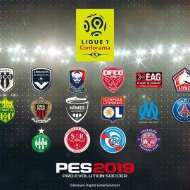 PES 2019 – Il gioco includerà la licenza completa ufficiale della Ligue 1