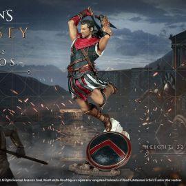 Assassin's Creed Odyssey – Le statuette di Alexios e Kassandra e la Lancia Spezzata di Leonida