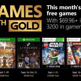 Microsoft Games With Gold di Settembre 2018