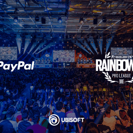 Ubisoft – PayPal nuovo partner strategico per Rainbow Six Pro League e Majors