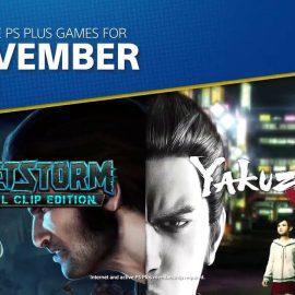 PlayStation Plus – Tutti i giochi gratis di novembre 2018