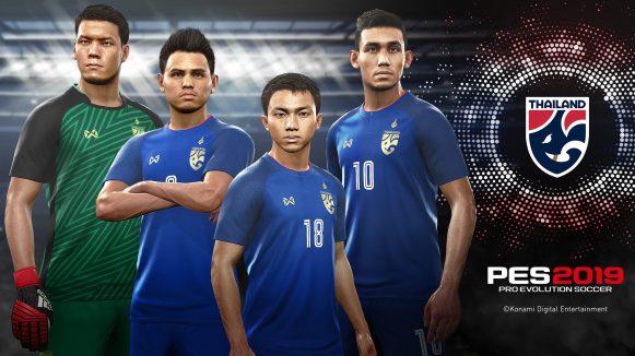 PES 2019 Thailand National Team