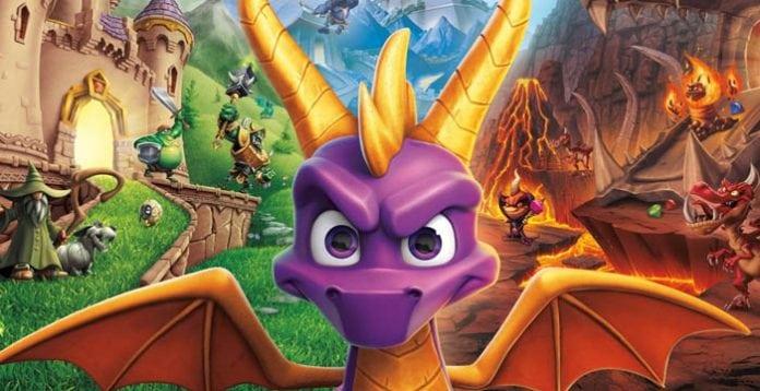 Spyro: Reignited Trilogy potrebbe sbarcare su Nintendo Switch News Videogames
