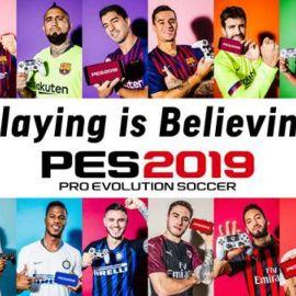 """PES 2019 – Uno Spot ricco di campioni annuncia la campagna promozionale """"Playing is Believing"""""""