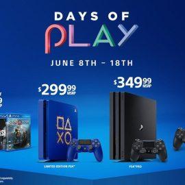 Days of Play 2019 – In arrivo una nuova PS4 in edizione limitata e tante imperdibili offerte