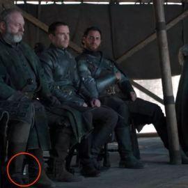 Anche una bottiglia d'acqua sul set di Game of Thrones!