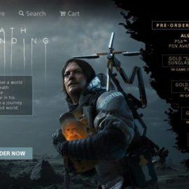 Death Stranding – Il PlaystationStore sta per attivare i pre-order?