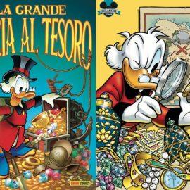 Classici Disney – La storica collana riparte dal numero 1 con l'albo: La Grande Caccia al Tesoro