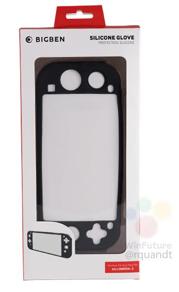 Rumor - Cover per Nintendo Switch Mini leakkata da BigBen Hi-Tech Nerd&Geek
