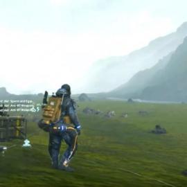 Il nuovo gameplay di Death Stranding mostra anche info sul multiplayer