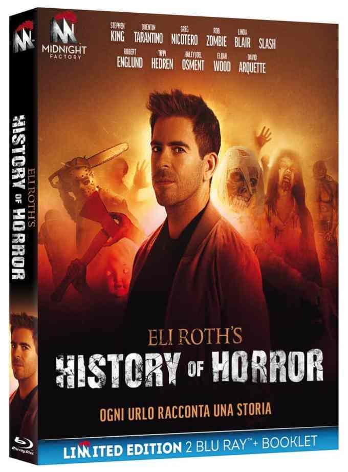 Eli Roth's History of Horror - In arrivo in DVD e Blu Ray il 23 gennaio Cinema Comunicati Stampa